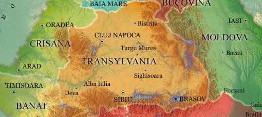 Transylvania flying ways