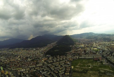 August Flying Around Brasov