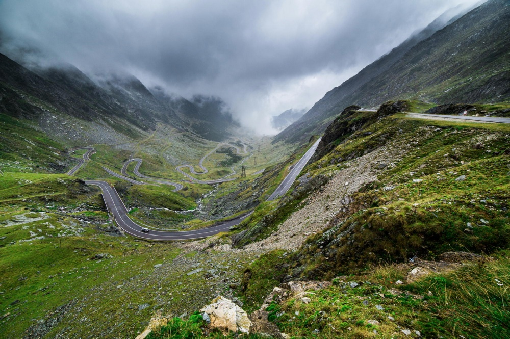 The Transfagarasan Highway, in Transylvania. By Ben Taylor