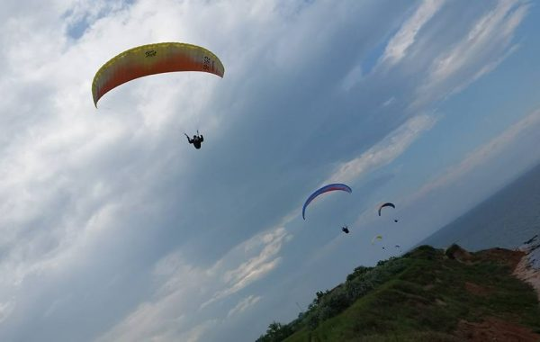 Soaring by the Black Sea